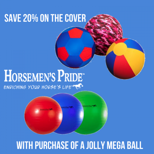 Horseman's Pride Jolly MEGA Ball & Cover Deal