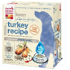 Keen Whole Grain Turkey Dog Food 4 lbs.