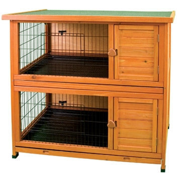 Premium + Double Decker Rabbit Hutch