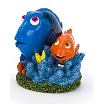 Finding Dory 'Dory & Marlin' on Coral Aquarium Ornament