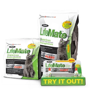 Pestell LifeMate Clumping Cat Litter with Health Alert