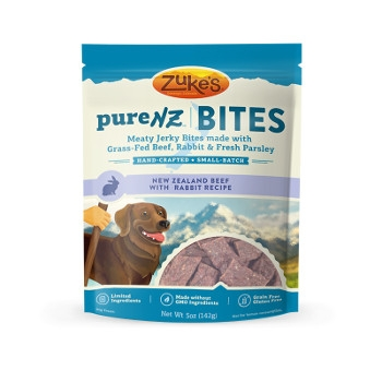 Zuke's® PureNZ™ Bites Beef & Rabbit Treats, 5 oz.