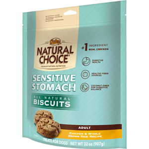 NATURAL CHOICE™ Sensitive Stomach Dog Biscuits, 32 oz.