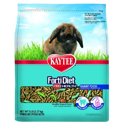 Kaytee Forti-Diet Pro Health Adult Rabbit Food, 10 lbs.