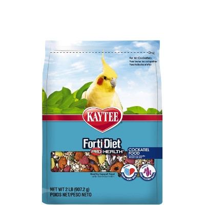 Kaytee Forti-Diet Pro Health Cockatiel Food, 2 lbs.