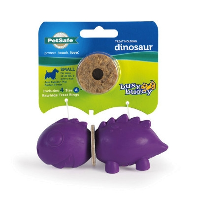 Busy Buddy® Dinosaur Ring Holding Dog Toys