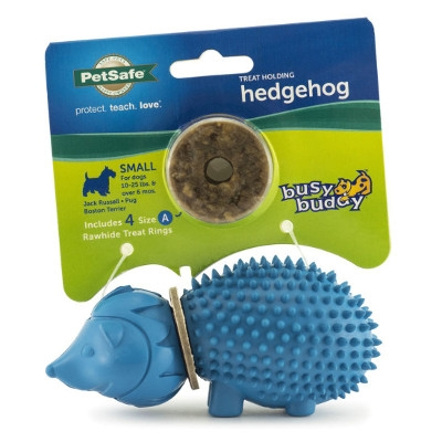 Busy Buddy® Hedgehog Ring Holding Dog Toys