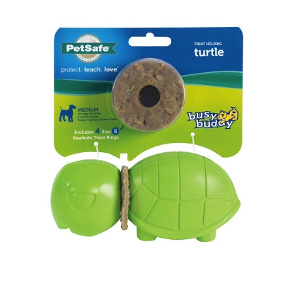 Busy Buddy® Turtle Ring Holding Dog Toys