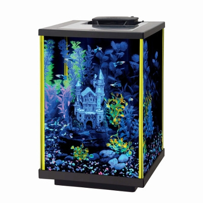 Aqueon NeoGlow LED Aquarium Kit, 5 Gallons