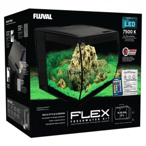 FluVal Flex Aquarium Kit, 15 Gallons