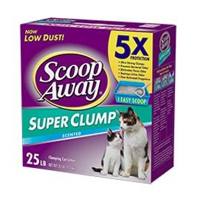 Scoop Away Super Clump Scented Cat LItter 25 lbs