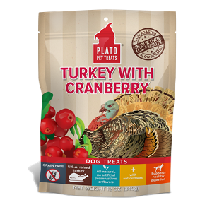 Turkey with Cranberry Dog Treats