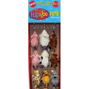 FlipaZoo Dog Toy