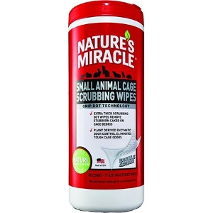 Small Animal Cage Scrubbing Wipes