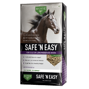 Safe and Easy Pelleted Horse Feed 50lbs