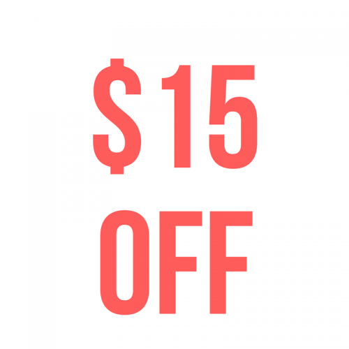 $15 Off When You Spend $100 or More
