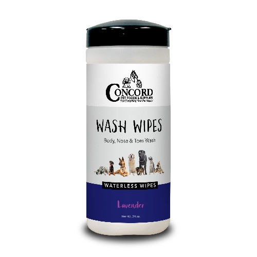Concord Pet Lavender Wash Wipes