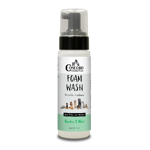 Concord Pet Bamboo & Mint Foam Wash