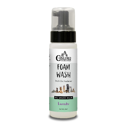 Concord Pet Lavender Foam Wash