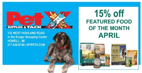15% Off April Featured Food Of The Month - Canidae