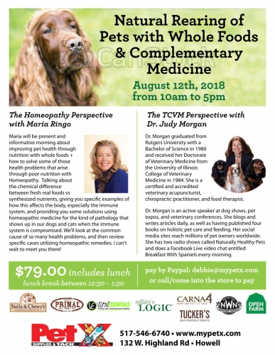 Natural Rearing of Pets Event