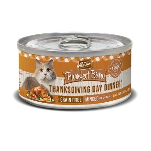 Merrick Purrfect Bistro Grain Free Thanksgiving Day Dinner Canned Cat Food