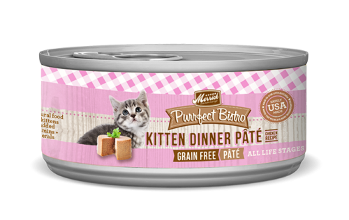 Merrick Purrfect Bistro Kitten Dinner Plate Canned Food