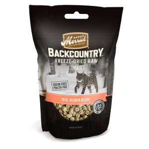 Merrick Backcountry Real Salmon Recipe Cat Treats