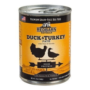 Redbarn's Duck & Turkey Pate Dog Food