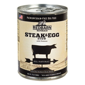 Redbarn's Steak and Egg Stew Dog Food