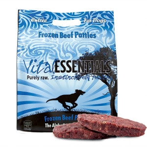 Vital Essentials Frozen Beef Patties