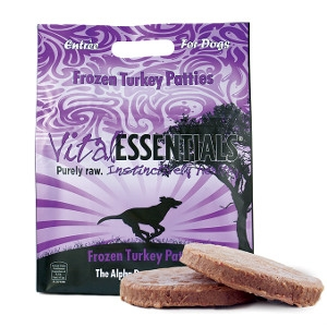 Vital Essentials Frozen Turkey Patties