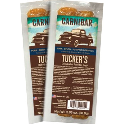 Tucker's Carnibar Pork,Bison, and Pumpkin Formula