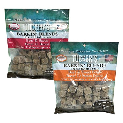 Tucker's Barkin' Blends Freeze Dried Treats