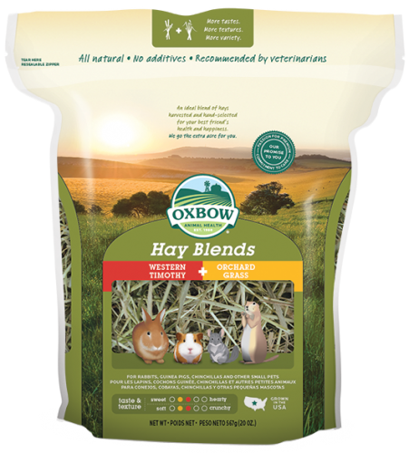 Oxobow Hay Blends - Western Timothy & Orchard Gras