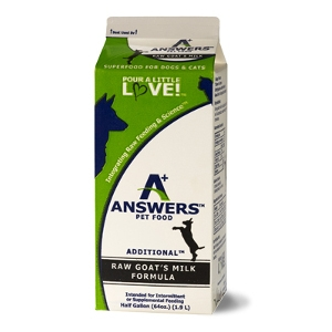 Answers Pet Food Raw Goat's Milk