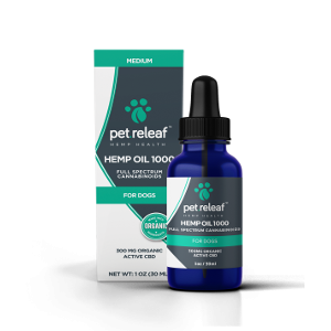 Pet Releaf Hemp Oil 1000