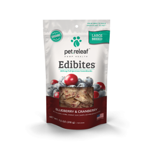 Pet Releaf Blueberry Cranberry Large Breed Edibites