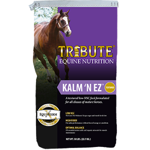 Tribute Equine Nutrition Kalm 'N Ez Textured Horse Feed