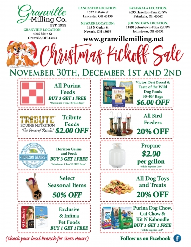 Christmas Kickoff Sale!