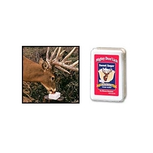 Mighty Deer Lick Sweet Sugar Block, 4 pound brick