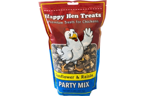 Happy Hen Party Mix, Sunflower and Raisin