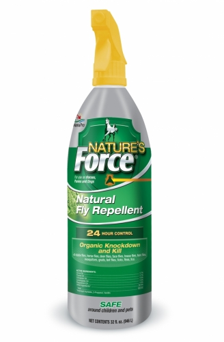 Nature's Force Natural Fly Repellent, 32 ounce Spray