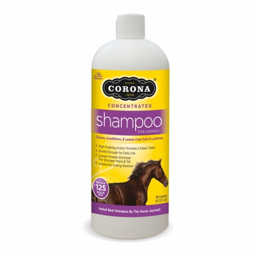 Corona Concentrated Shampoo, one quart or three liter