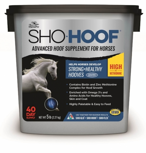 Sho-Hoof Advanced Hoof Supplement for Horses, 5 pound