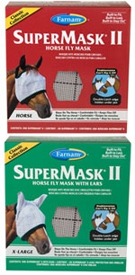 Supermask II Horse Fly Mask with Ears