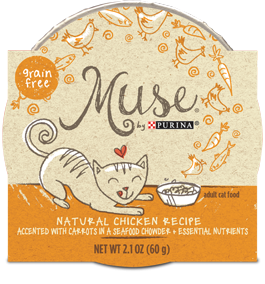 Muse Natural Chicken Recipe in Seafood Chowder, 2.1 ounce