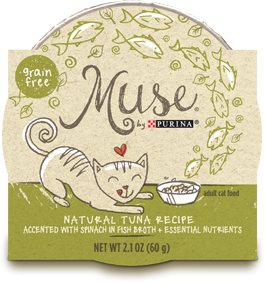 Muse Natural Tuna Recipe in Fish Broth, 2.1 ounce