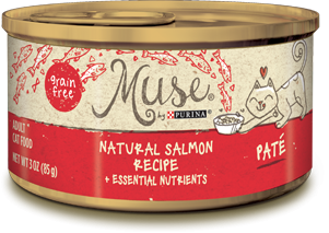 Muse Natural Salmon Recipe Pate, 3 ounce