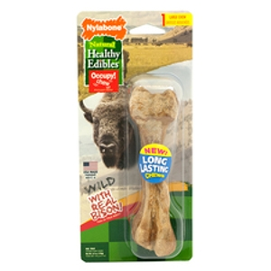 Healthy Edibles Wild Bison Dog Chew